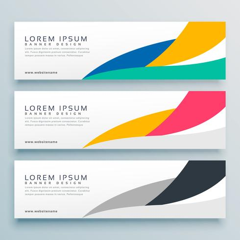 wavy web banner or header design background