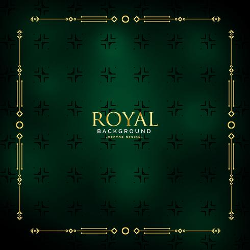 royal golden background design illustration