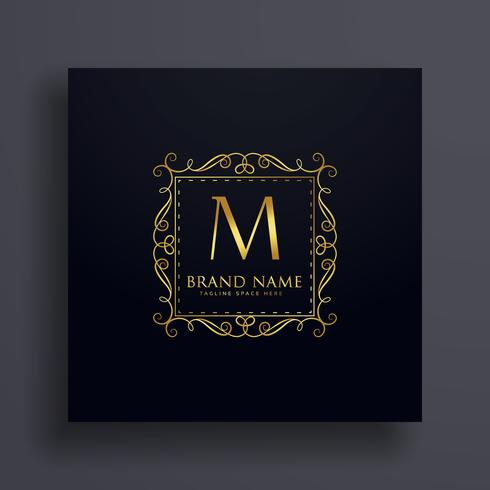 letter M premium logo design concept for your brand
