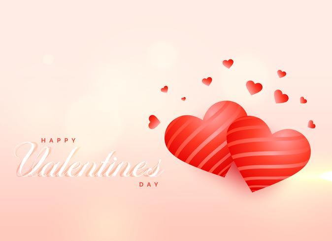 Fondo de corazones de amor impresionante para el día de San Valentín