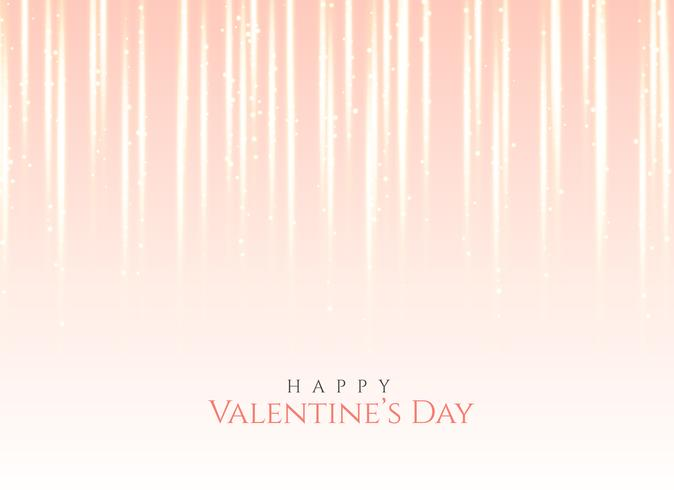 pink light effect background for valentine's day
