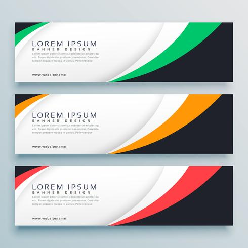 abstract web banner or header design template - Download Free Vector ...