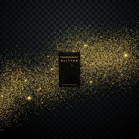 gold glitter background star dust shiny sparkles