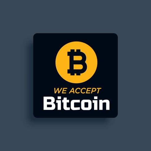 bitcoin sticker etikett design vektor