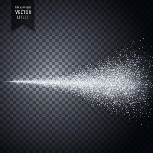 water spray fog of atomizer transparent vector