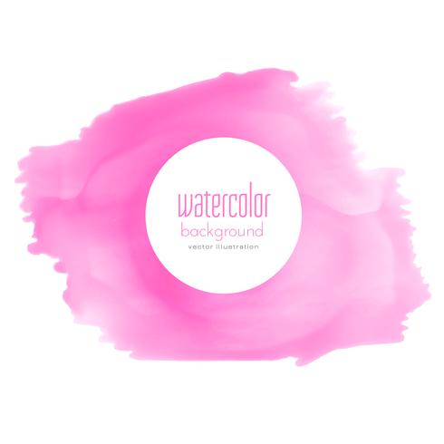 pink watercolor stain texture background