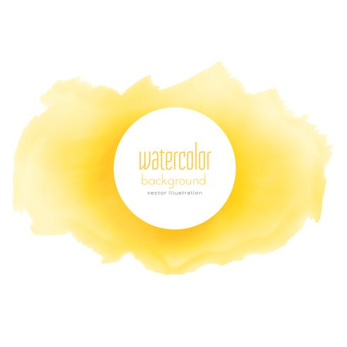 bright yellow watercolor grunge texture background