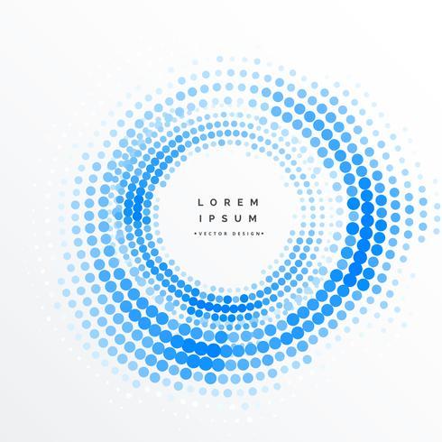 Fondo de marco de semitono circular abstracto