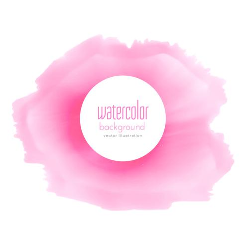 soft pink watercolor stain background