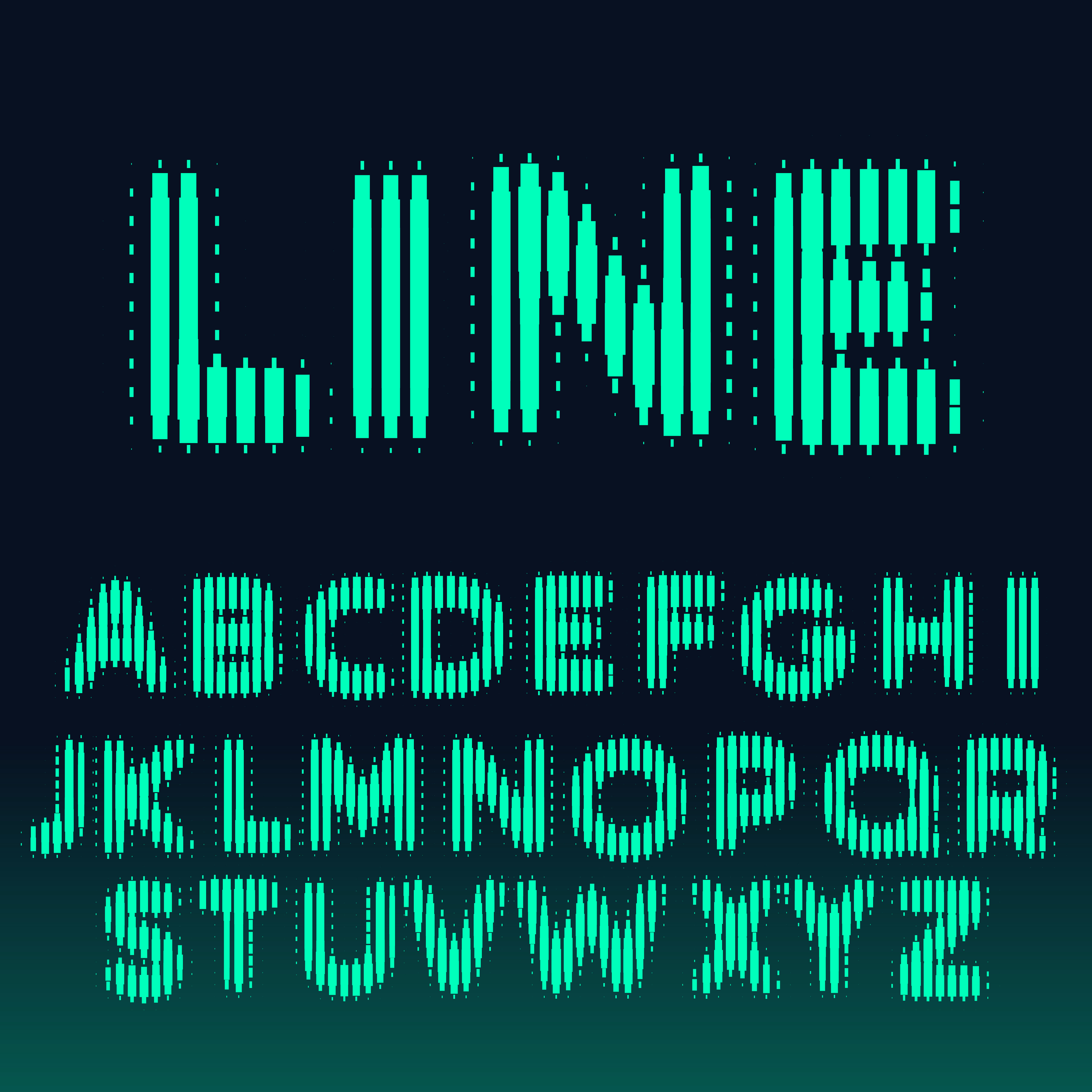 Download alphabet font made with bold lines - Download Free Vector ...