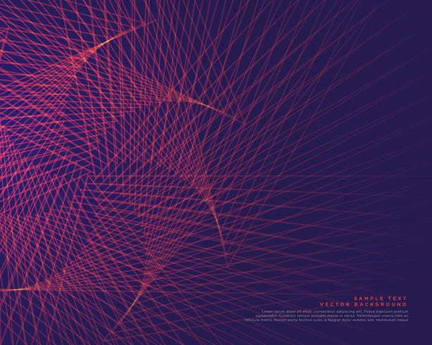 abstract lines background vector design