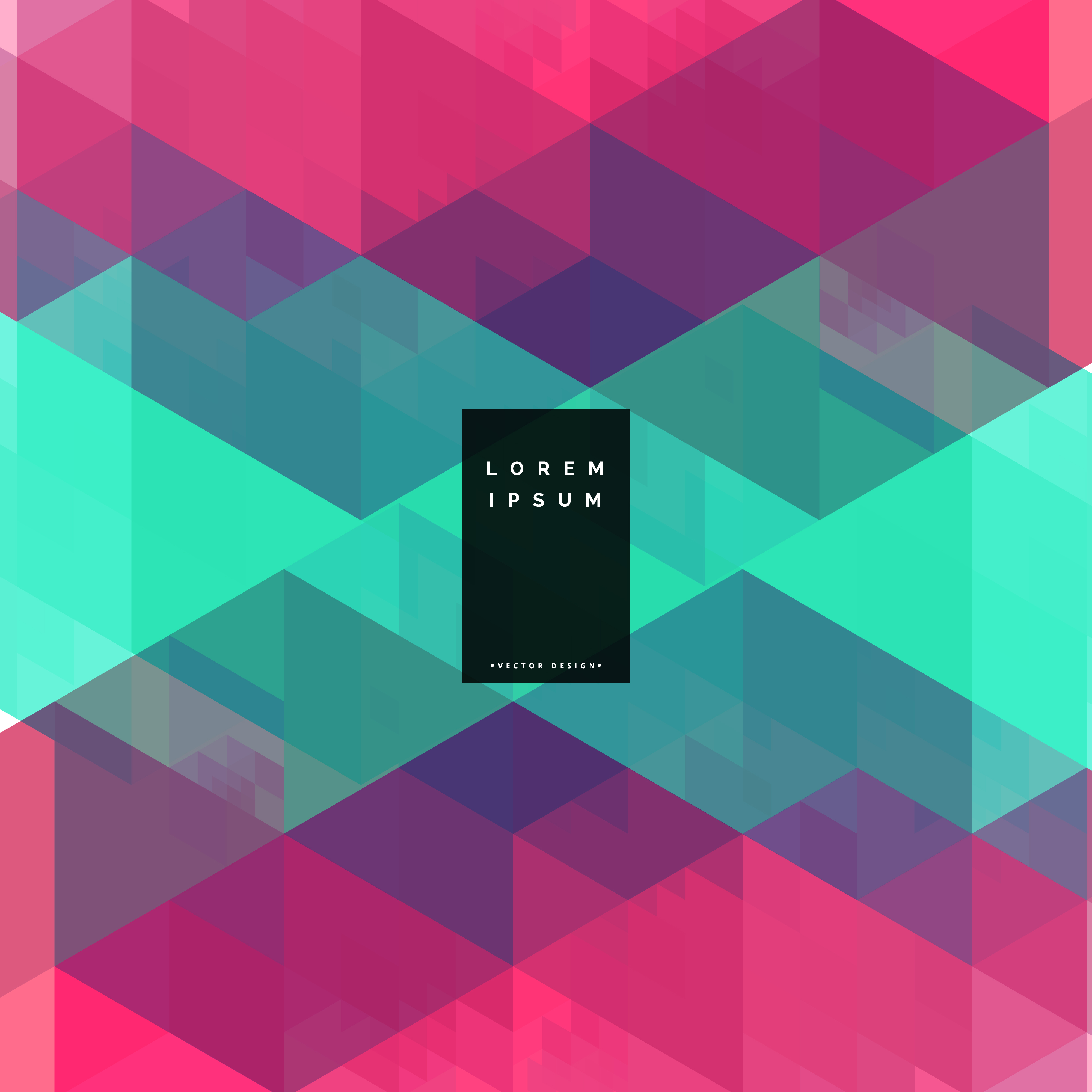 geometric colorful abstract background design - Download ...