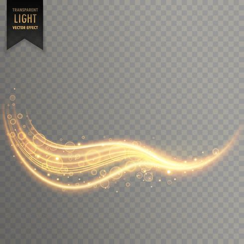 transparent wavy light effect background design