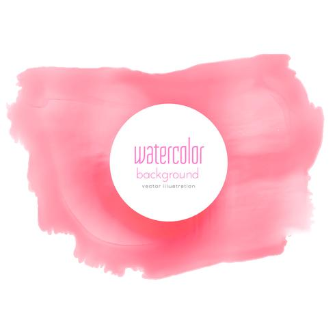 soft red watercolor grunge vector background