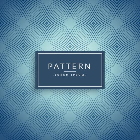 elegant blue pattern design background