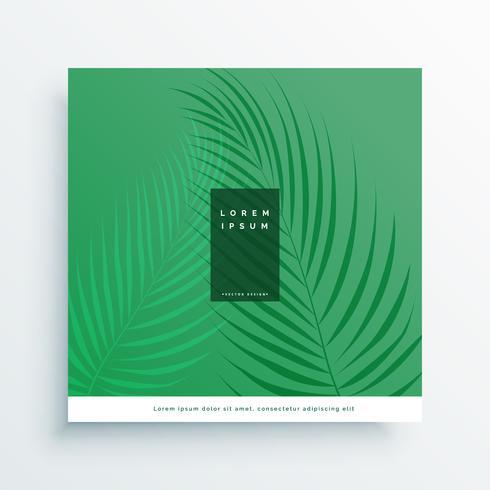 Sfondo Verde Elegante Natura Con Foglia Scarica Gratis Arte