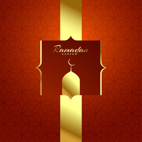 beautiful shiny ramadan kareem festival background