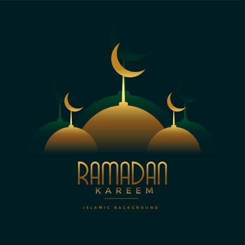 islamitische ramadan kareem festival groet