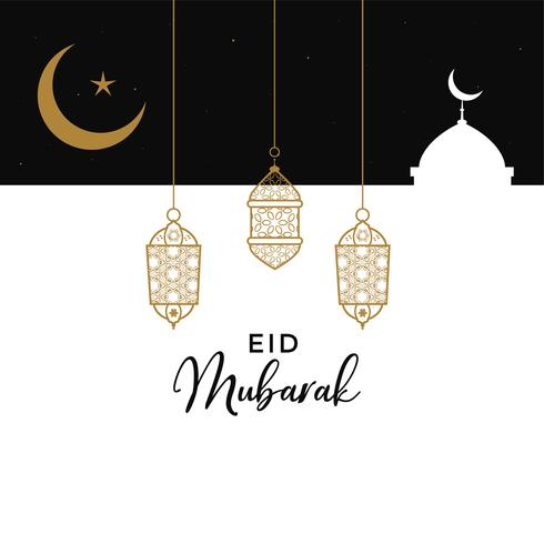 eid mubarak creative design background