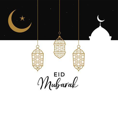 eid mubarak creative design background
