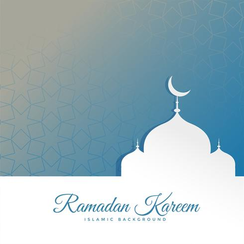 ramadan kareem festival greeting with space for your text