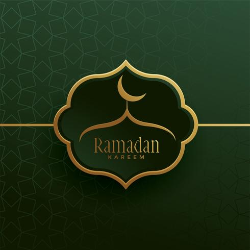 beautiful vintage ramadan kareem background