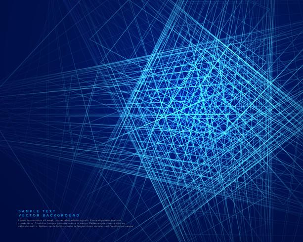 abstract blue lines web technology background