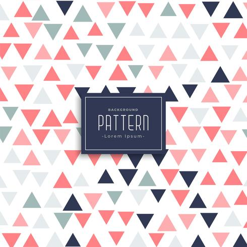 modern triangle pattern vector background
