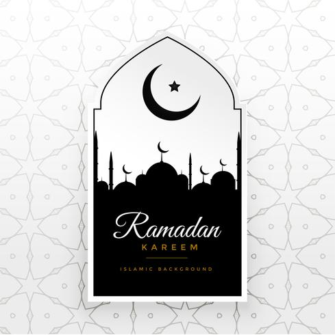 ramadan kareem creative vector greeting