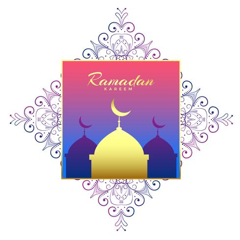 ramadan kareem beautiful background decoration
