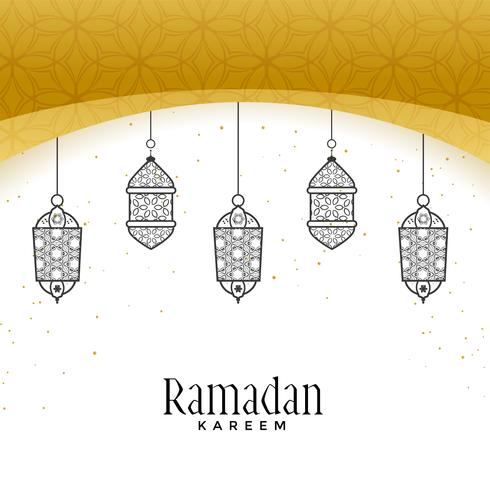 beautiful hanging lamps for ramadan kareem