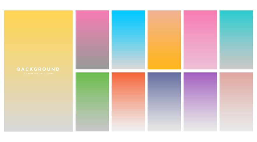 modern colorful soft background gradients