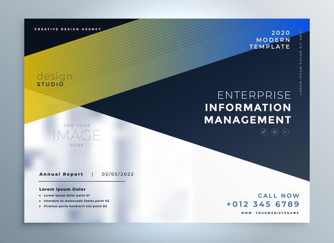 elegant business flyer design template