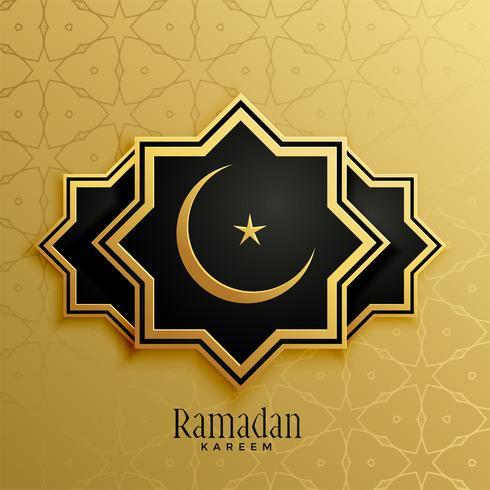 Fondo islámico para la temporada de Ramadán Kareem