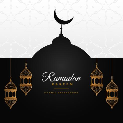 ramadan kareem awesome design background
