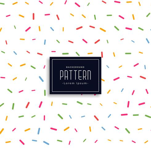 colorful memphis confetti style pattern background