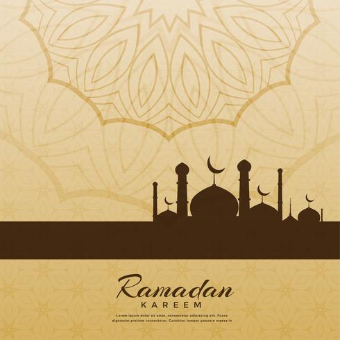 creative ramadan kareem festival greeting background