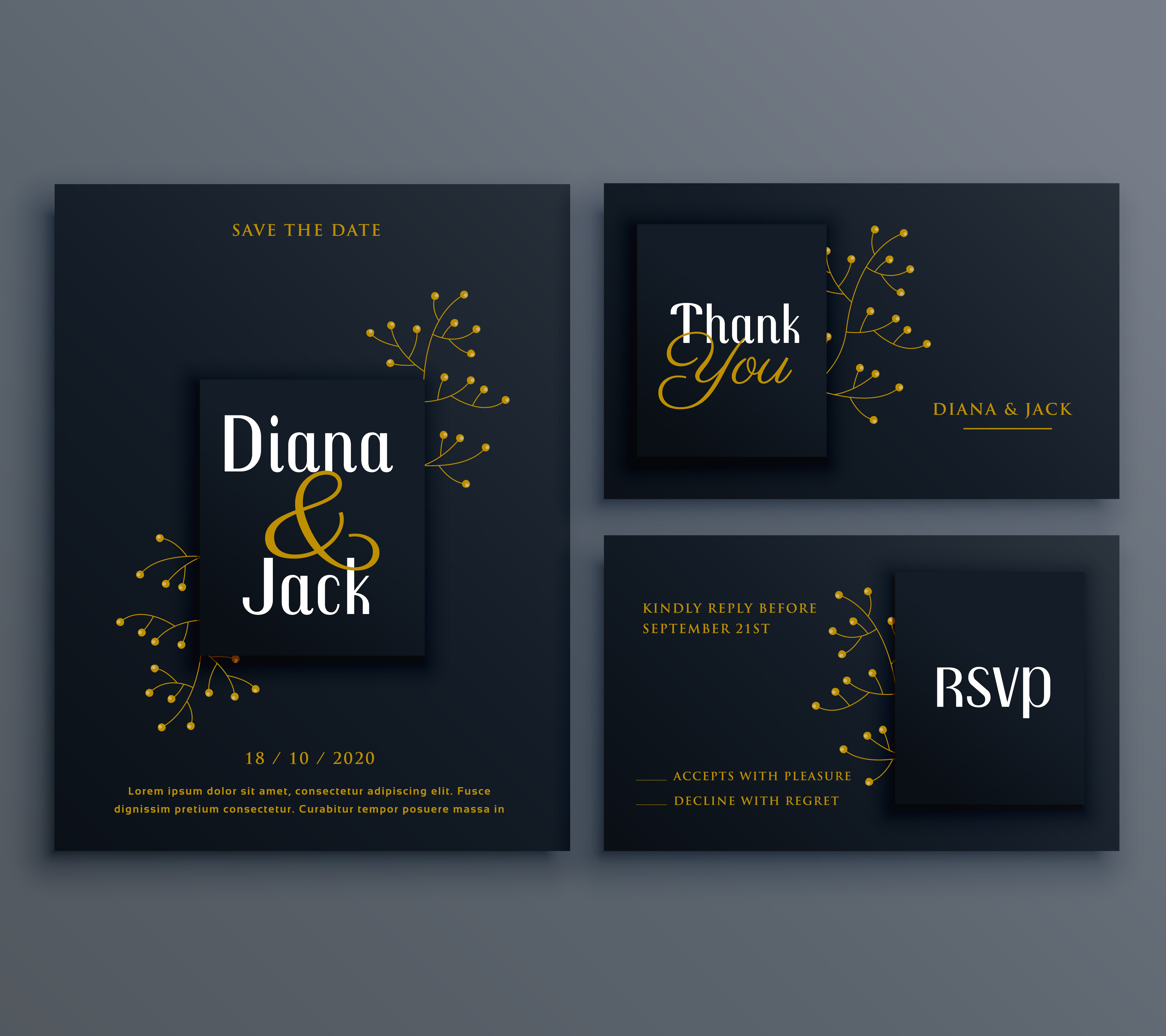 Invitation Card Design 27801 Free Downloads