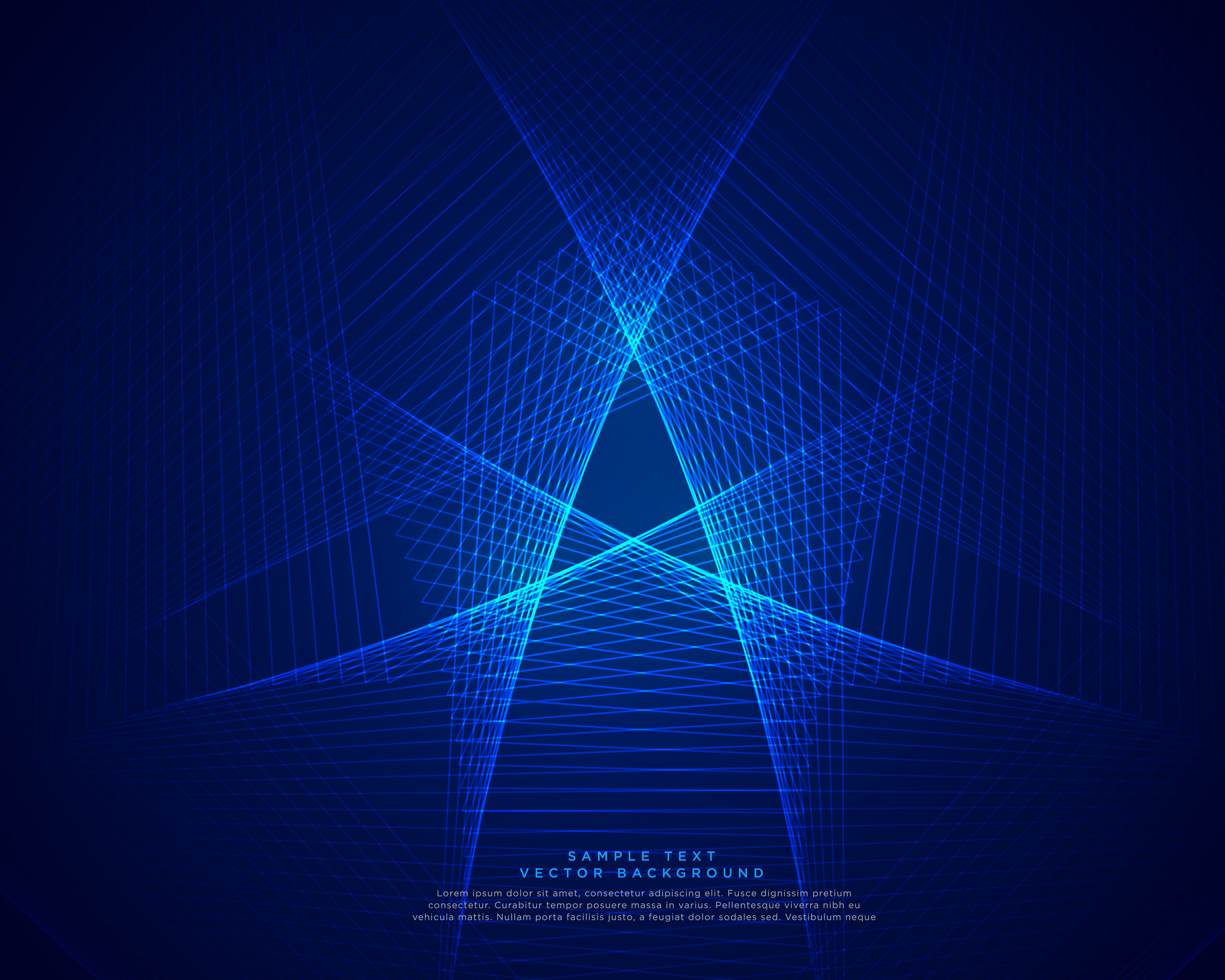 Blue Technology Abstract Background: Blue Technology Abstract Lines Background