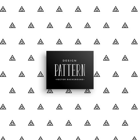 subtle triangle pattern vector background