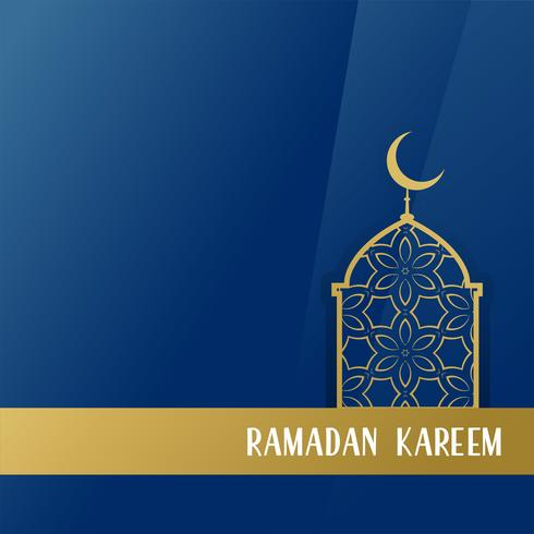 ramadan kareem seasonal design background