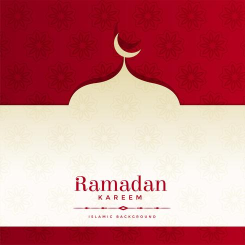 ramadan kareem beautiful background design