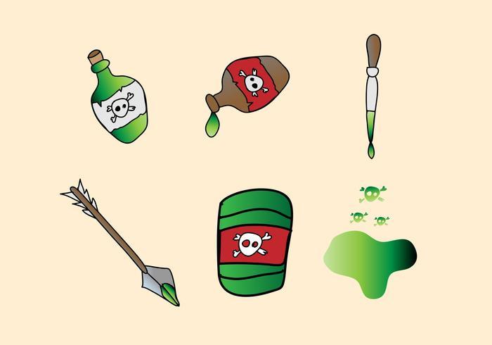 Vecteurs de poison