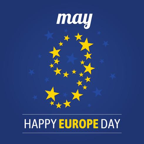 Europe Day Background