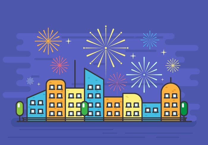 Fireworks Hintergrund
