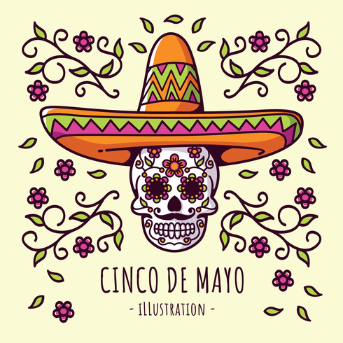 Cinco De Mayo-Illustration vektor
