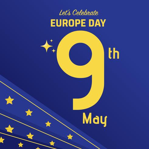 Fundo de celebração do dia da Europa