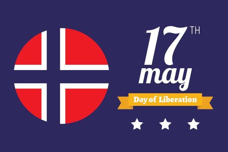 Norwegian Day of Liberation Background