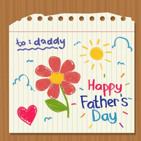 Glücklicher Vatertag Hintergrund