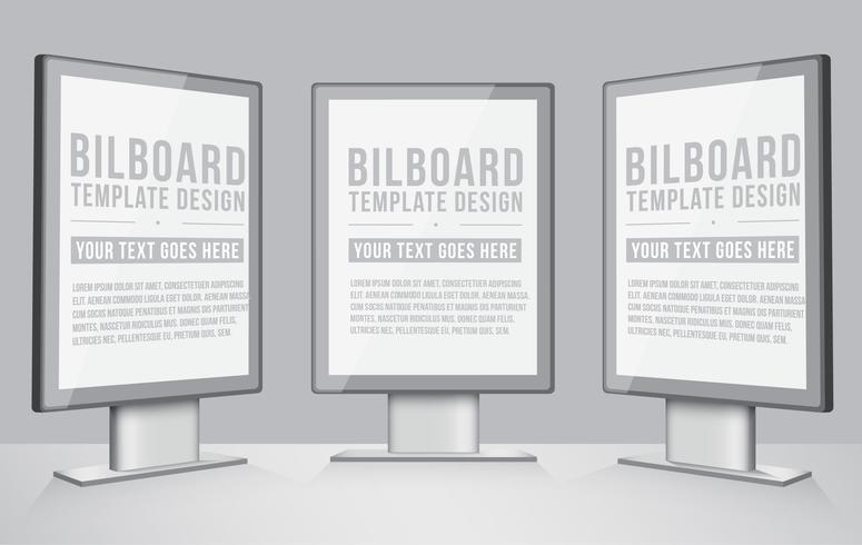 Vektor Realistische Plakatgestaltung